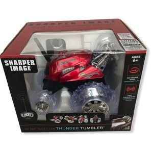 NEW SHARPER IMAGE THUNDER TUMBLER RALLY CA…